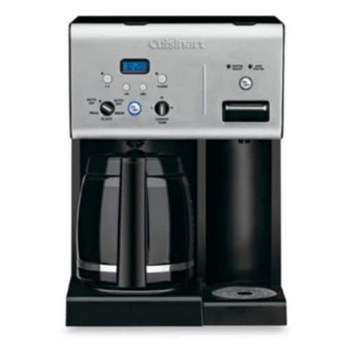 Cuisinart 12-Cup Programmable Coffeemaker with Hot Water System Perspective: front