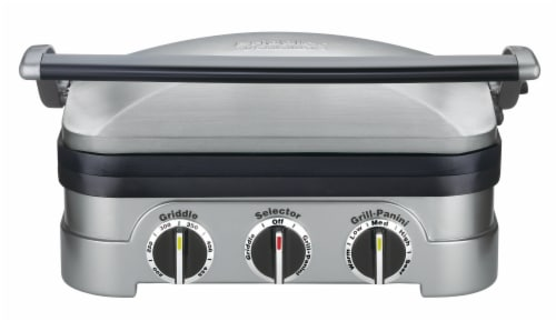 Cuisinart Griddler - Stainless Perspective: front