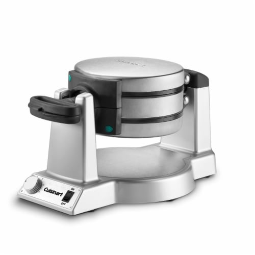 Cuisinart Double Waffle Maker - Silver Perspective: front