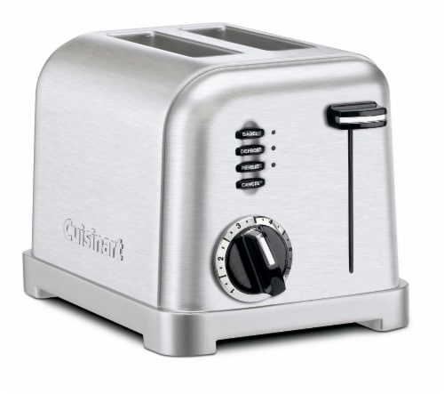 Cuisinart Metal Classic 2-Slice Toaster - Silver Perspective: front