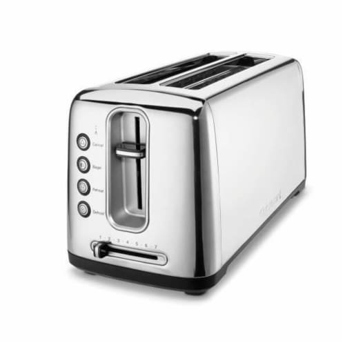 Cuisinart The Bakery Dual Long Slot Artisan Bread Toaster - Silver Perspective: front
