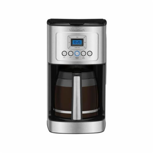 Cuisinart Programmable Coffee Maker - Silver/Black Perspective: front