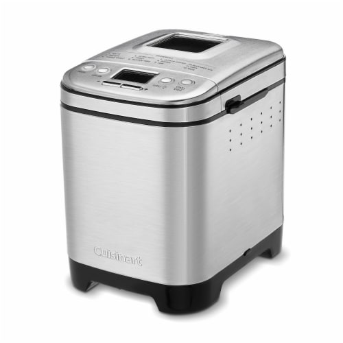 Cuisinart Compact Automatic Bread Maker - Silver Perspective: front
