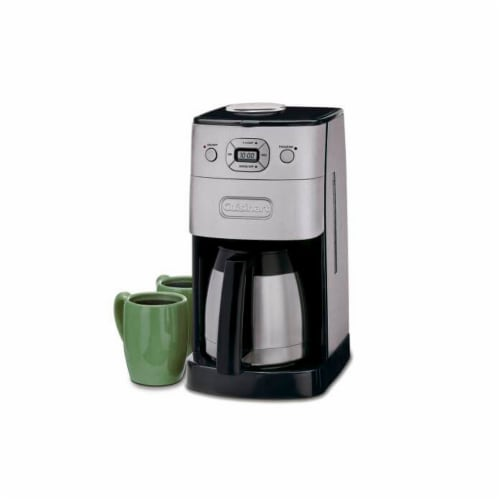 Cuisinart 10-Cup Grind and Brew Automatic Coffeemaker Perspective: front