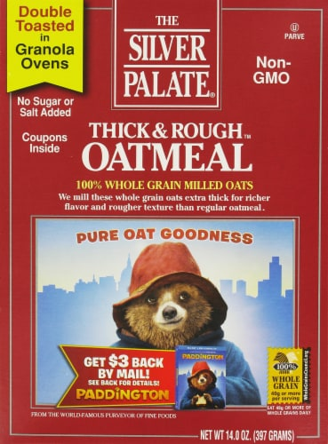 Silver Palate Thick & Rough Oatmeal Perspective: front