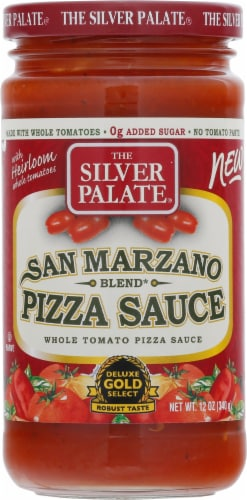 The Silver Palate San Marzano Blend Pizza Sauce Perspective: front