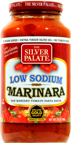 Silver Plate Low Sodium Marinara Perspective: front