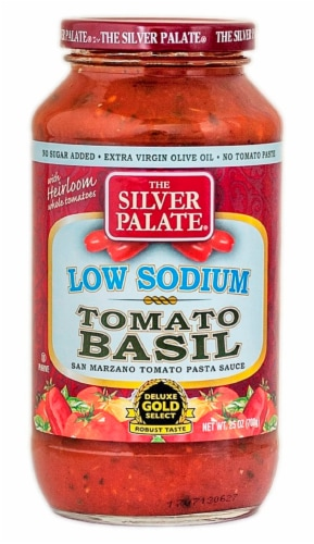 The Silver Palate Tomato Basil Pasta Sauce Perspective: front