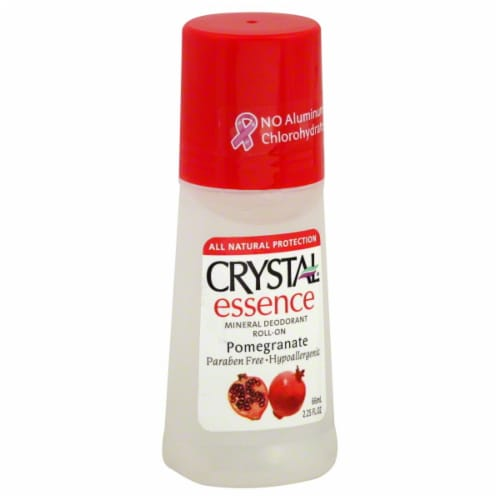 Crystal Essence Pomegranate Body Deodorant Perspective: front