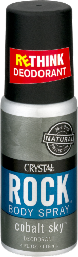Crystal Rock Deodorant Spray Perspective: front