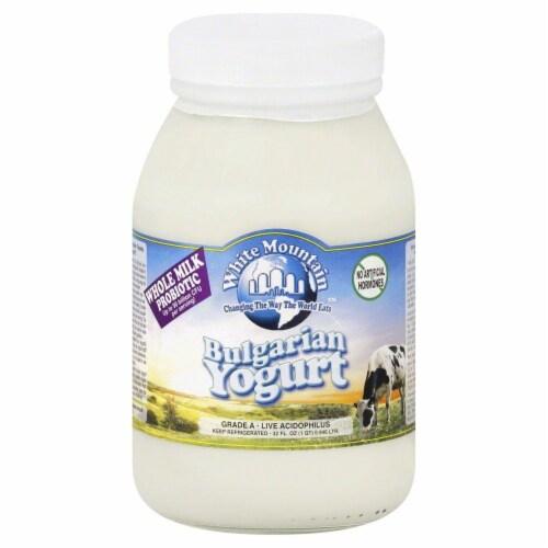 White Mountain Plain Yogurt Perspective: front