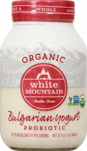 White Mountain Whole Milk Bulgarian Yogurt Perspective: front