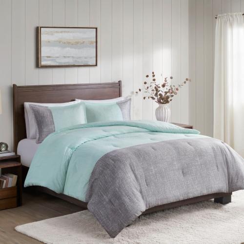 JLA Home Pearce Comforter Set - 3 Piece Perspective: front