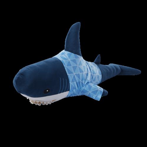 Moonbeams Shark Body Pillow Perspective: front