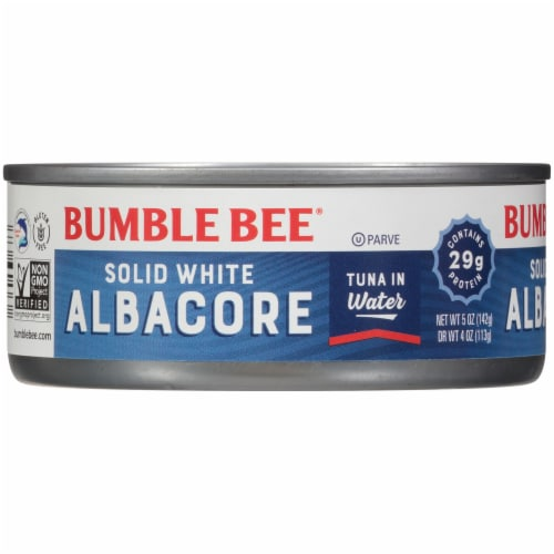 Bumble Bee Solid White Albacore Tuna in Water Perspective: front