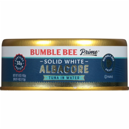Bumble Bee Prime Fillet Solid White Albacore Tuna in Water Perspective: front