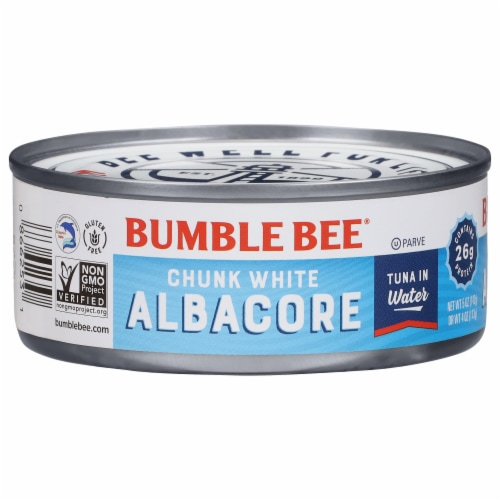 Bumble Bee Chunk White Albacore Tuna in Water Perspective: front