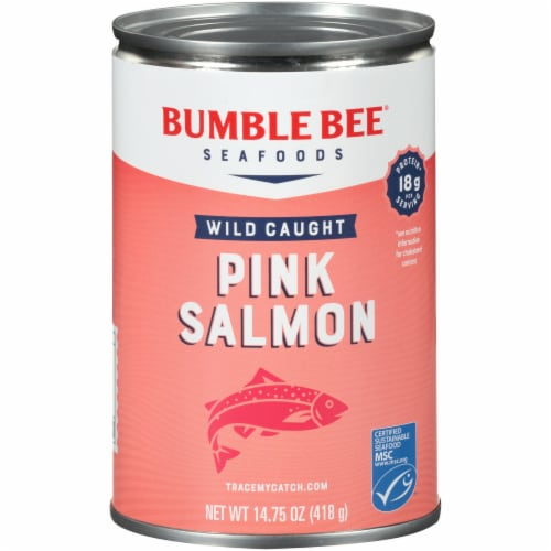 Bumble Bee Wild Caught Pink Salmon Perspective: front