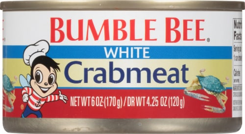 Bumble Bee White Crabmeat Perspective: front