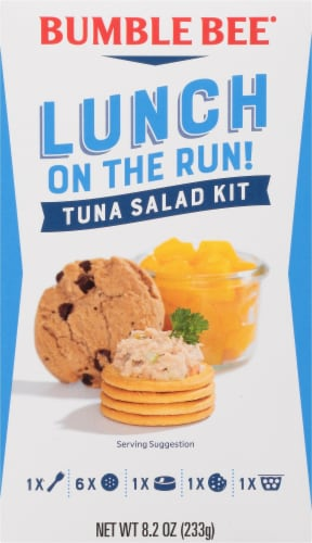 Bumble Bee Lunch on the Run Tuna Salad Kit Perspective: front