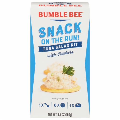 Bumble Bee Snack on the Run Tuna Salad with Crackers Perspective: front
