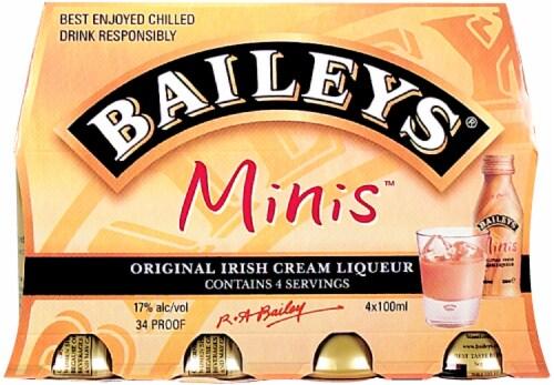 Baileys Minis Irish Cream Cordial Perspective: front