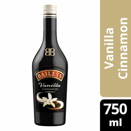 Baileys Vanilla Cinnamon Irish Cream Liqueur Perspective: front