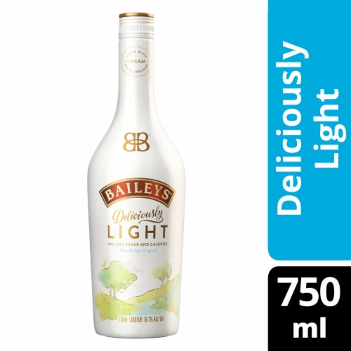 Bailey's Deliciously Light Liqueur Perspective: front