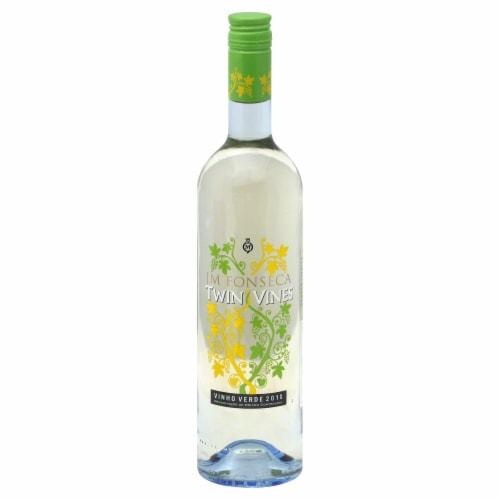 Twin Vines Vinho Verde White Wine Perspective: front