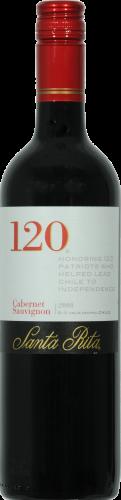 Santa Rita 120 Cabernet Sauvignon Red Wine Perspective: front