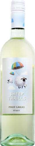 Sheep Thrills Pinot Grigio Italy Perspective: front