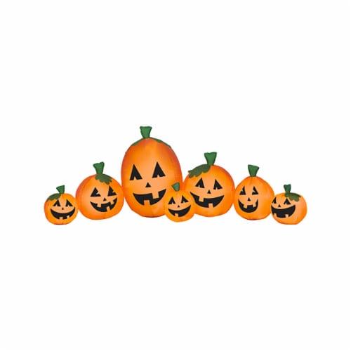 Good Tidings Harvest Pumpkin Collection Decor Perspective: front