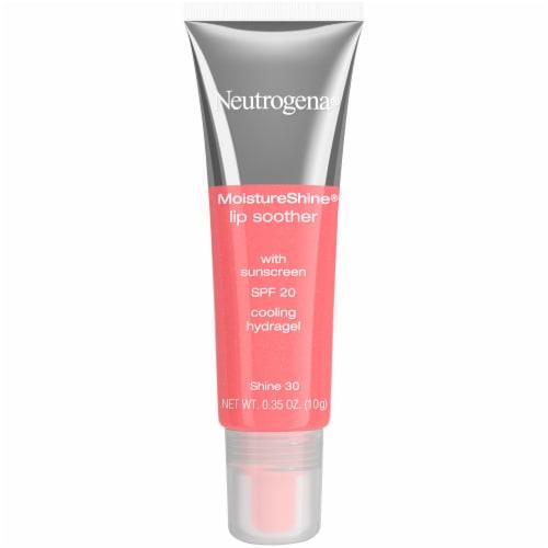 Neutrogena MoistureShine 30 Shine Lip Soother Gloss SPF 20 Perspective: front