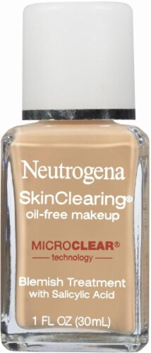 Neutrogena SkinClearing 40 Nude Oil-Free Makeup Perspective: front