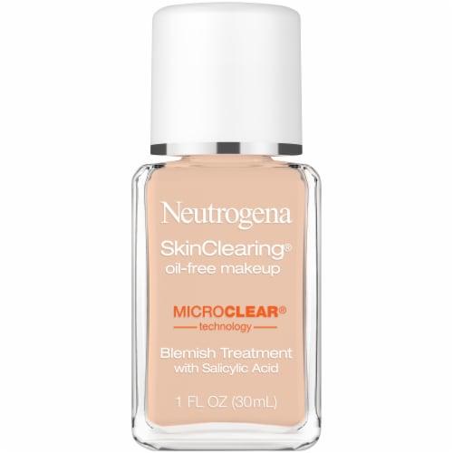 Neutrogena SkinClearing Natural Tan Liquid Makeup Perspective: front