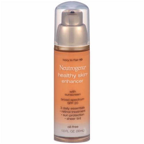 Neutrogena Healthy Skin Ivory to Fair SPF 20 Enhancer Perspective: front