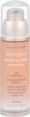 Neutrogena Healthy Skin 40 Neutral to Tan Enhancer SPF 20 Perspective: front