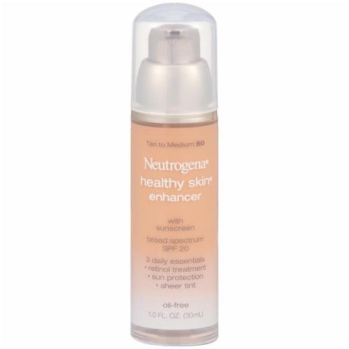 Neutrogena® Healthy Skin® Tan to Medium 50 Enhancer Broad Spectrum Spf 20 Perspective: front