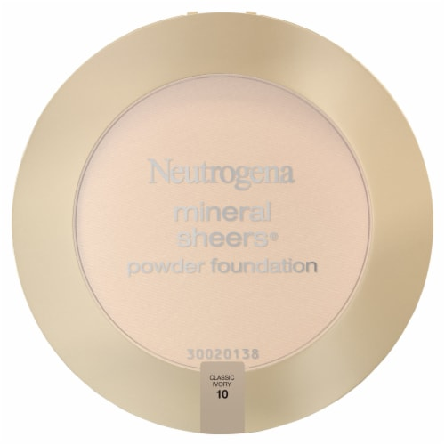 Neutrogena Mineral Sheers 10 Classic Ivory Powder Foundation SPF 20 Perspective: front