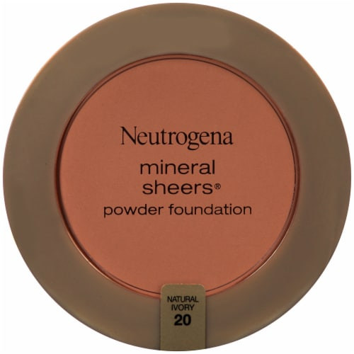 Neutrogena Mineral Sheers 20 Natural Ivory Powder Foundation SPF 20 Perspective: front