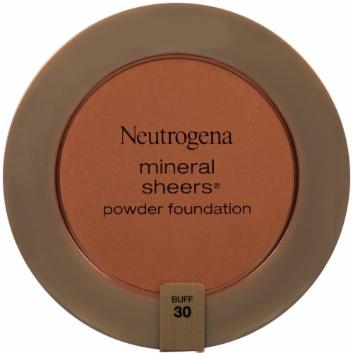 Neutrogena Mineral Sheers 30 Buff Powder Foundation SPF 20 Perspective: front