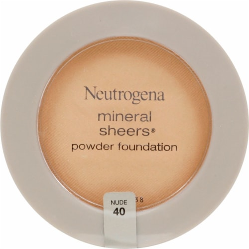 Neutrogena Mineral Sheers 40 Nude Powder Foundation Perspective: front