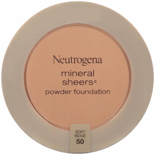 Neutrogena Mineral Sheers Soft Beige Powder Foundation Perspective: front