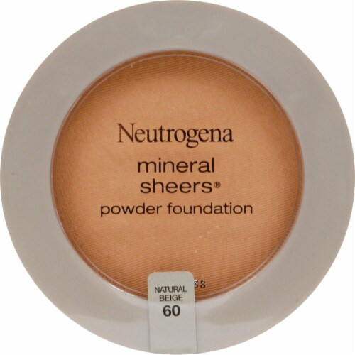 Neutrogena Mineral Sheers Natural Beige Powder Foundation Perspective: front