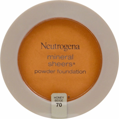 Neutrogena Mineral Sheers 70 Honey Beige Powder Foundation SPF 20 Perspective: front