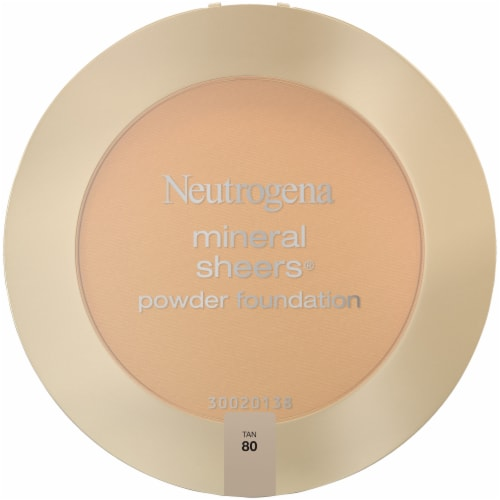 Neutrogena Mineral Sheers 80 Tan Powder Foundation SPF 20 Perspective: front