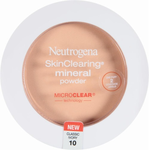 Neutrogena SkinClearing 10 Classic Ivory Mineral Powder Perspective: front
