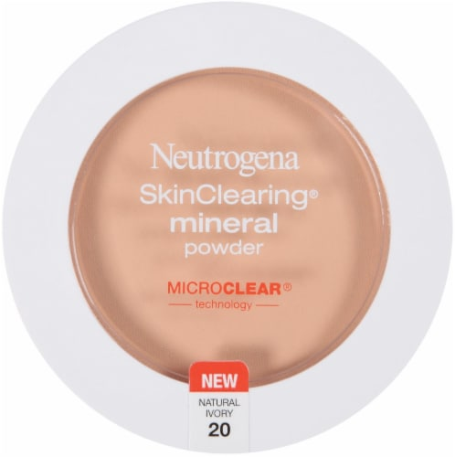 Neutrogena SkinClearing Natural Ivory Mineral Powder Perspective: front