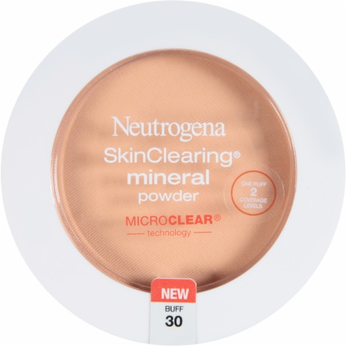 Neutrogena SkinClearing 30 Buff Mineral Powder Perspective: front
