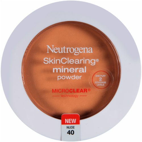 Neutrogena SkinClearing 40 Nude Mineral Powder Perspective: front